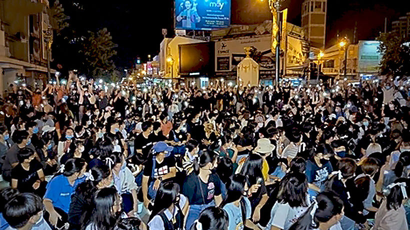 Khon Kaen sees second rally in 3 days | Thaiger