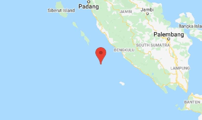 2 strong quakes shake Indonesia's Sumatra | Thaiger