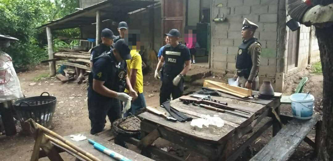 Police bust online rifle ring | News by Thaiger