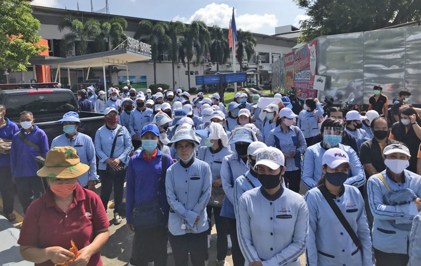 Hundreds left jobless as Air Force cancels golf club contract   Thaiger