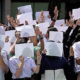 Students gather at Education Ministry, issue ultimatum | Thaiger