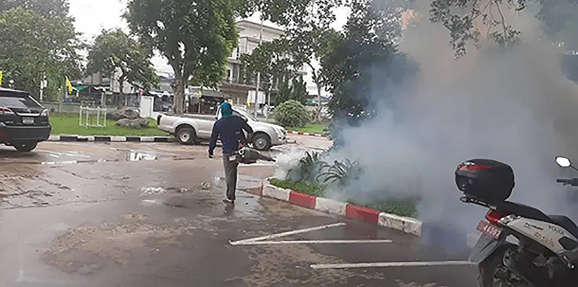 Chon Buri battles dengue fever outbreak | Thaiger