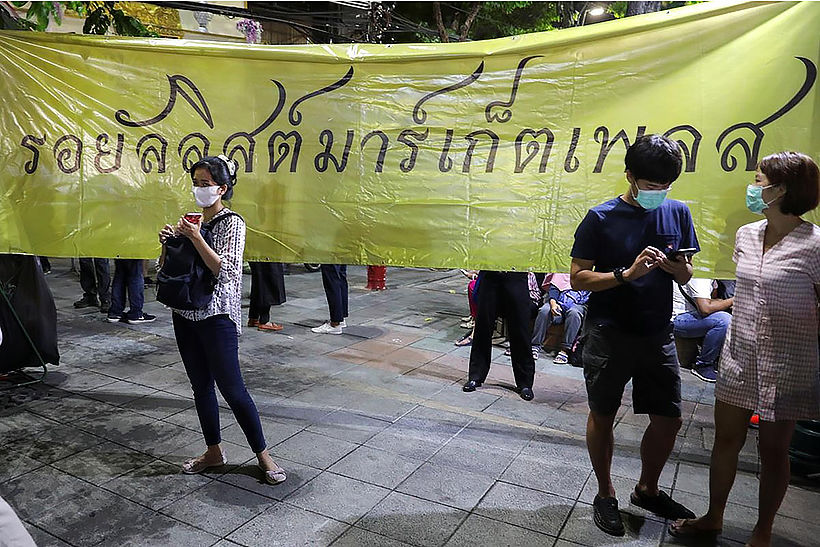Harry Potter-themed protest openly questions monarchy's role | News by Thaiger