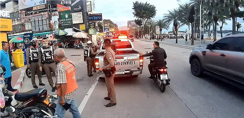Unidentified woman attacks foreign man in Pattaya | News by Thaiger