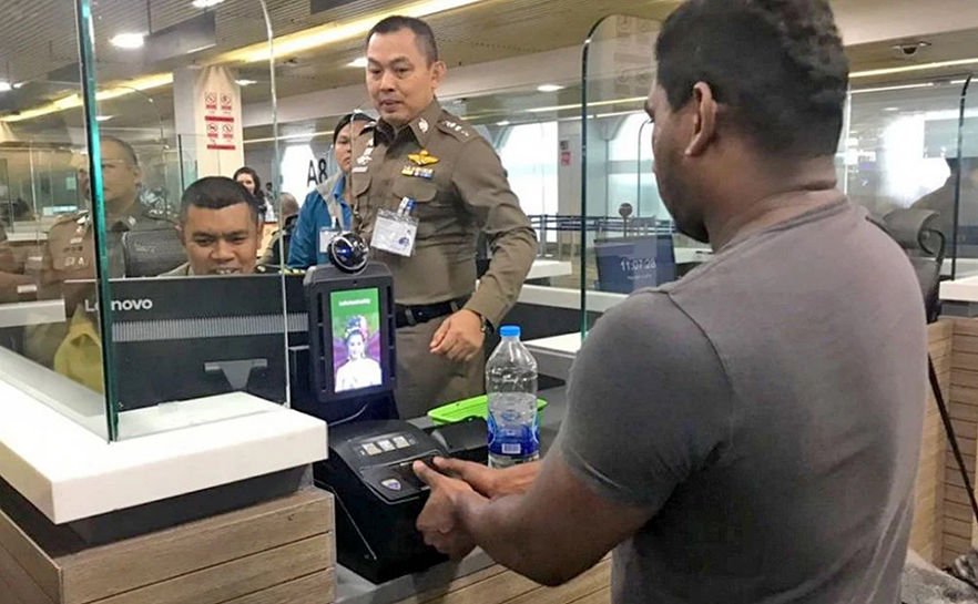 Human trafficking and drugs suspects nabbed using airport biometrics | Thaiger