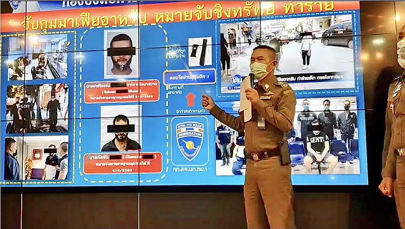 "Alleged ""Arab mafia"" members arrested in Bangkok | Thaiger"