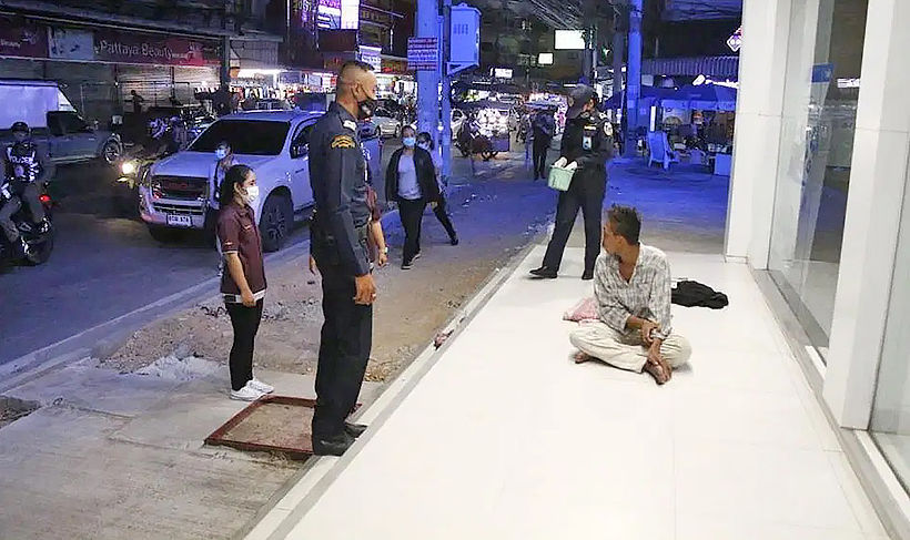 Chon Buri, Pattaya battle growing homelessness | News by Thaiger