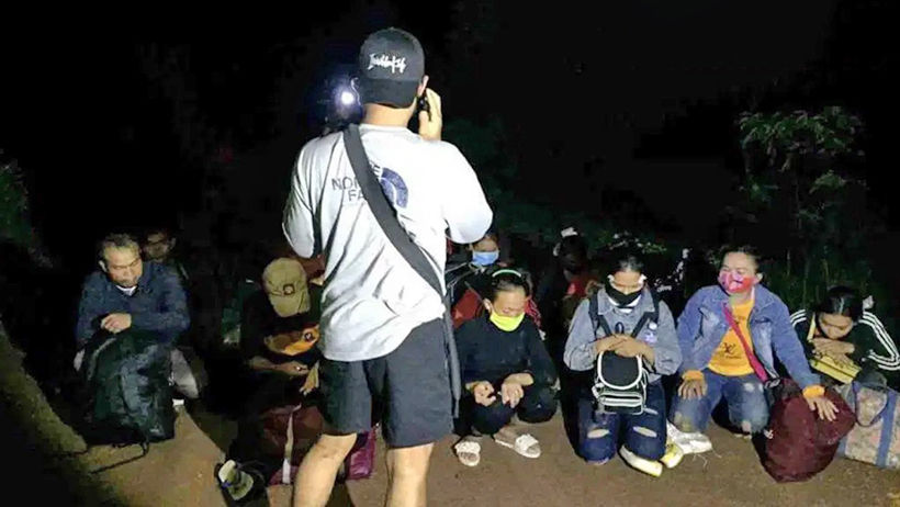 Joint operation nabs 29 illegal Cambodian migrants in a Kaeo | News by Thaiger
