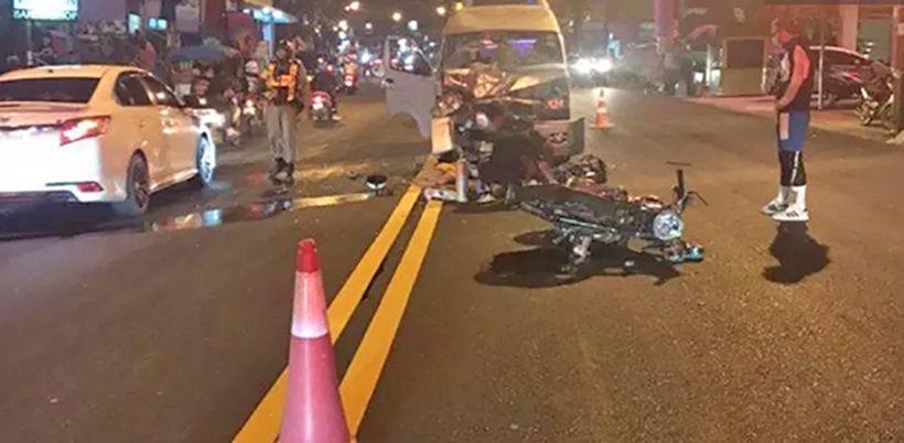 Austrian man dies in head-on collision in Phuket   Thaiger