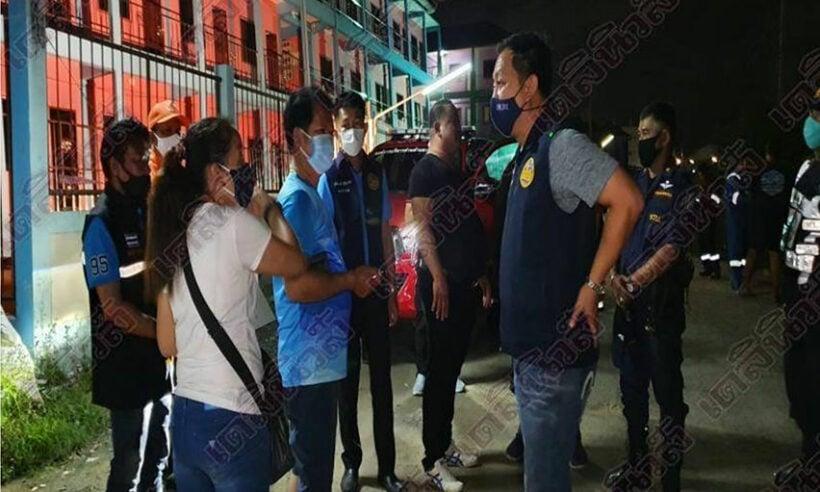 Dozens flee as Samut Sakhon flat block tilts | Thaiger