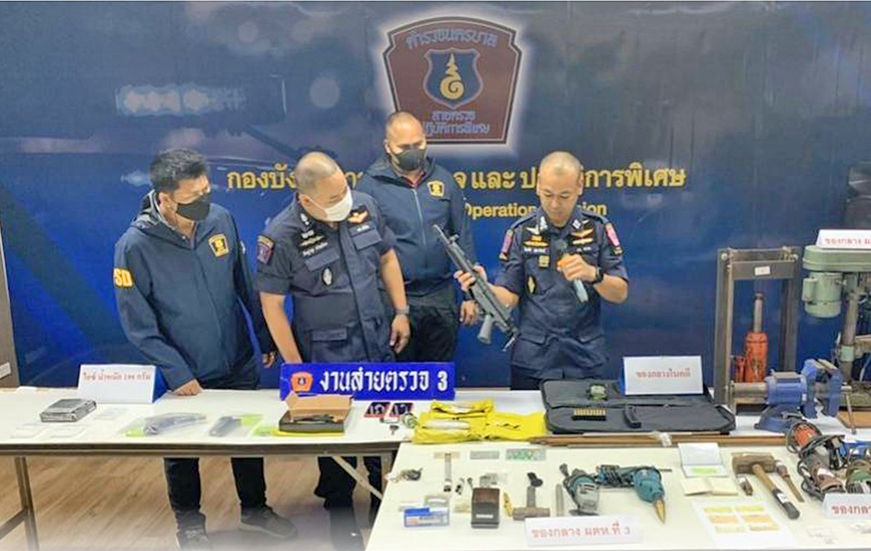 3 Nabbed for illegal online gun sales | Thaiger