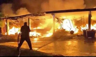 Si Racha blaze incinerates 50 golf carts | Thaiger