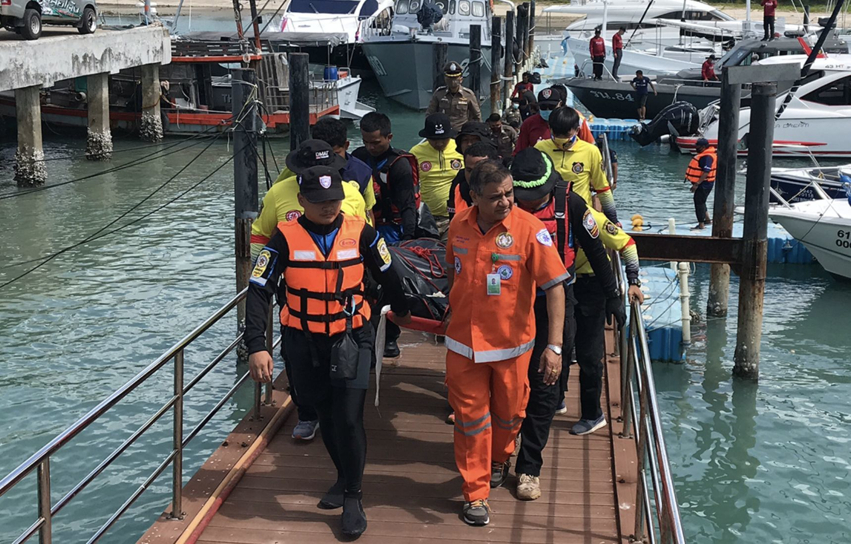 1 more body found, 3 remain missing. Koh Samui ferry disaster. | Thaiger
