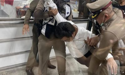 "A night of drama as 2 protesters face court in Bangkok over ""sedition"" charges 