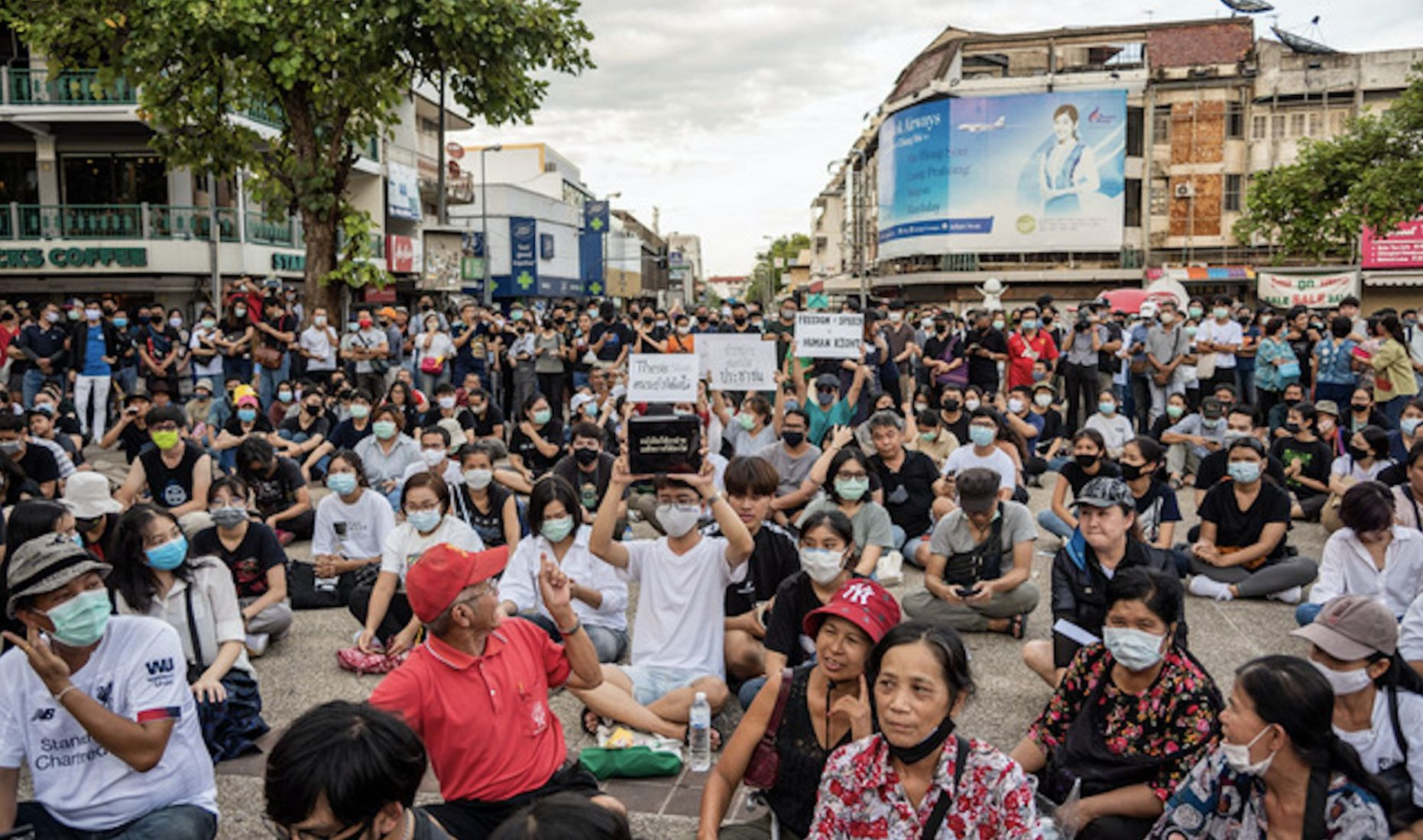 Jailed Thai activist Anon Nampa speaks in Chiang Mai whilst on bail - VIDEO | News by Thaiger