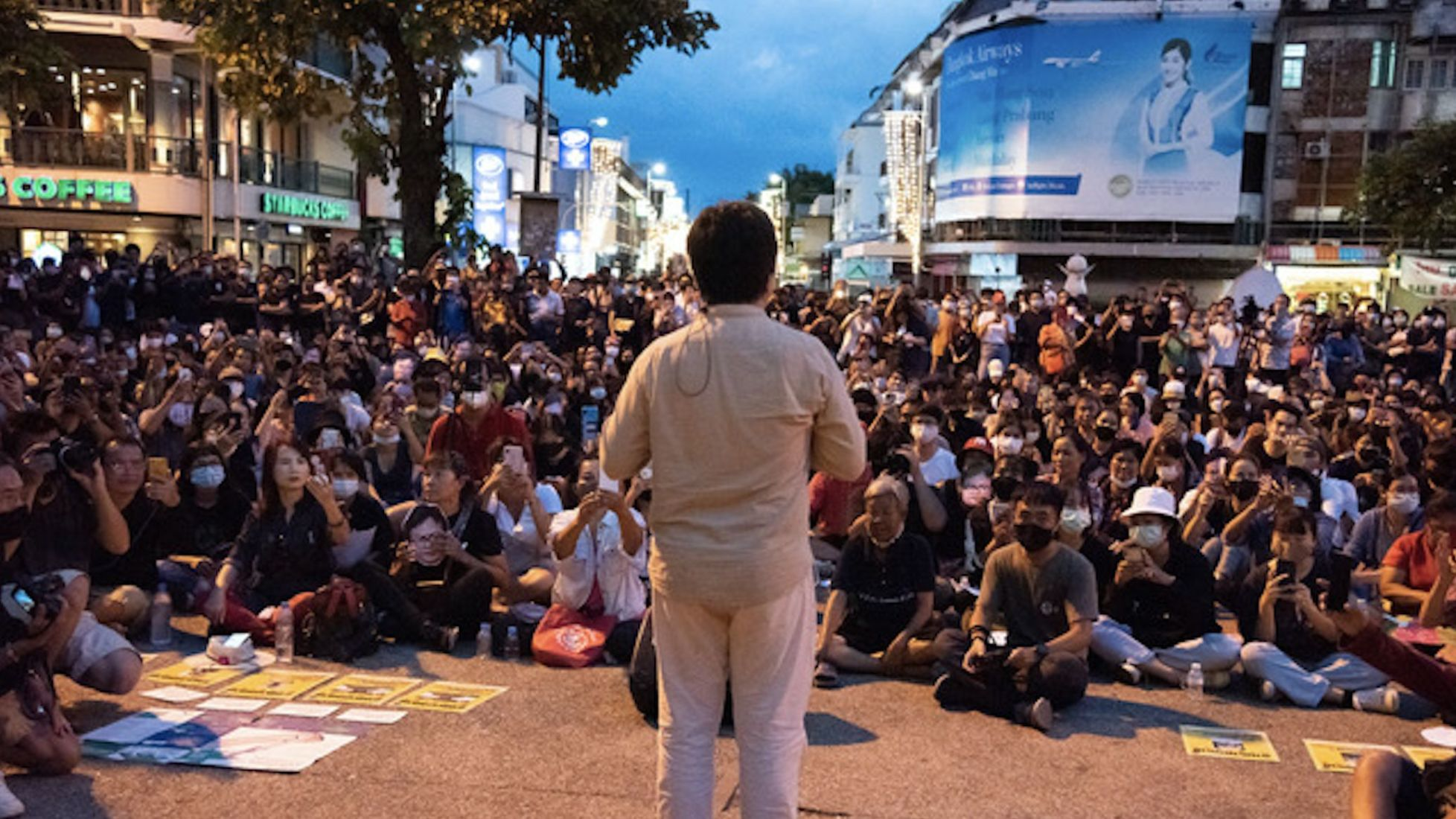 Jailed Thai activist Anon Nampa speaks in Chiang Mai whilst on bail – VIDEO   Thaiger