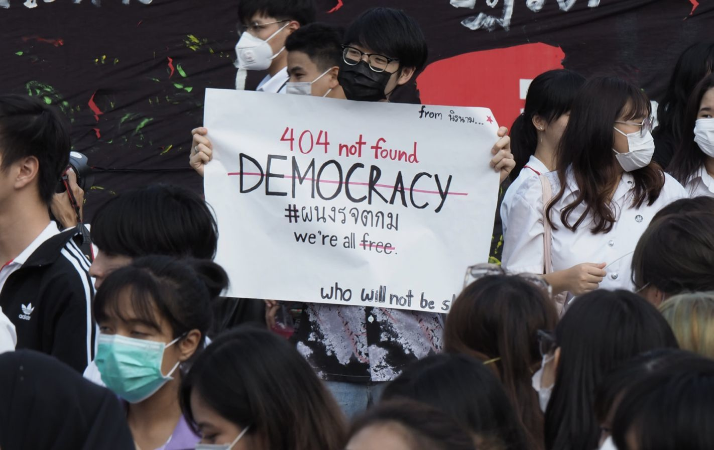Human Rights Watch talks protests, democracy and foreigners attending protests | Thaiger
