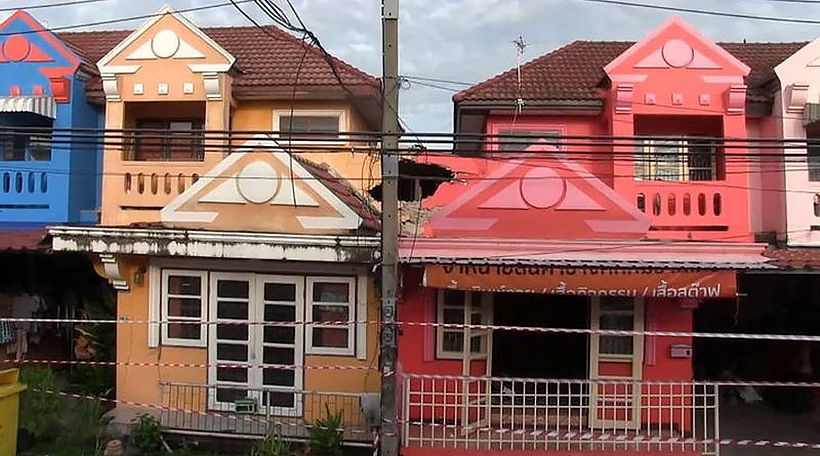 Homes partially collapse in 2 provinces | News by Thaiger