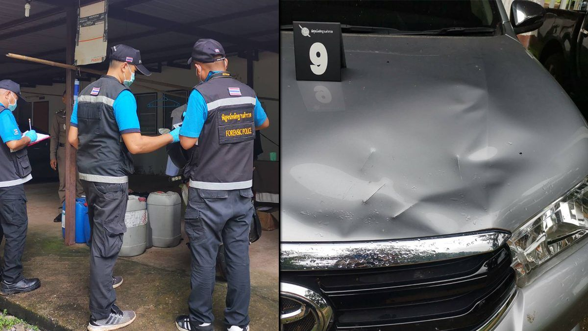 Man with ax ravages Thai neighborhood, shot dead by police | Thaiger