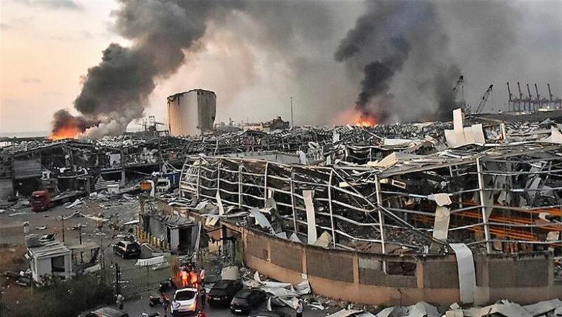 2 Thai men injured in Beirut explosion | Thaiger