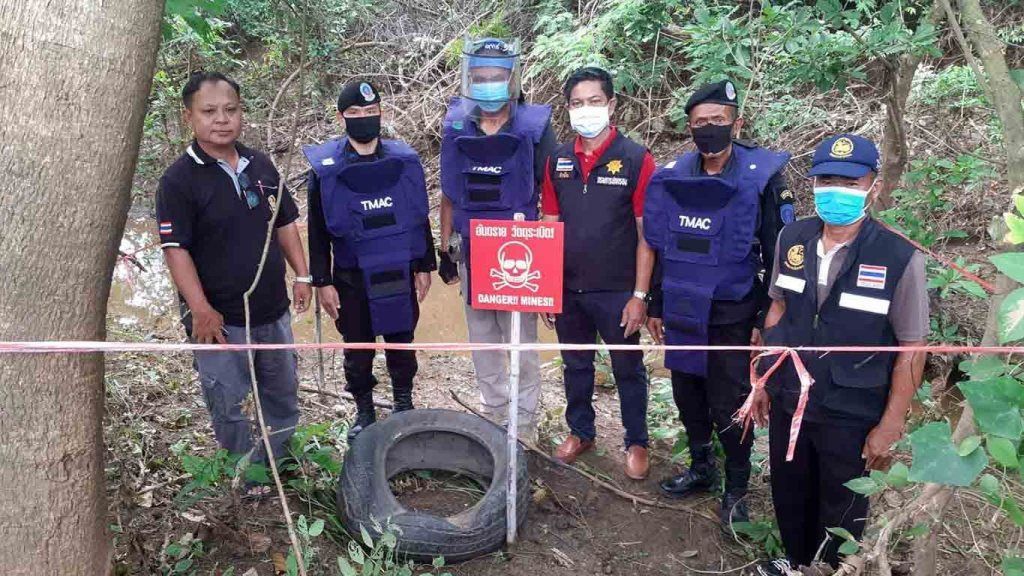 Discovery of unexploded bombs in eastern Thailand linked to Cambodian civil war | Thaiger