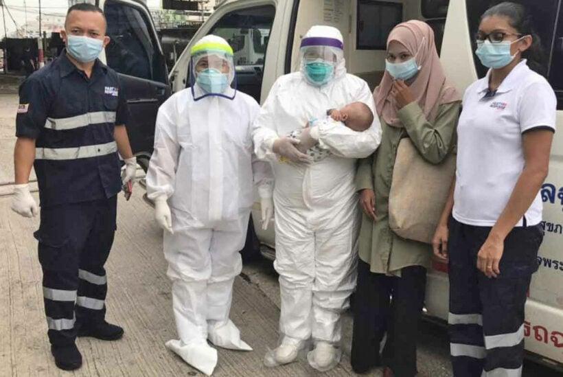 Mother, infant son reunited after 5 months | Thaiger