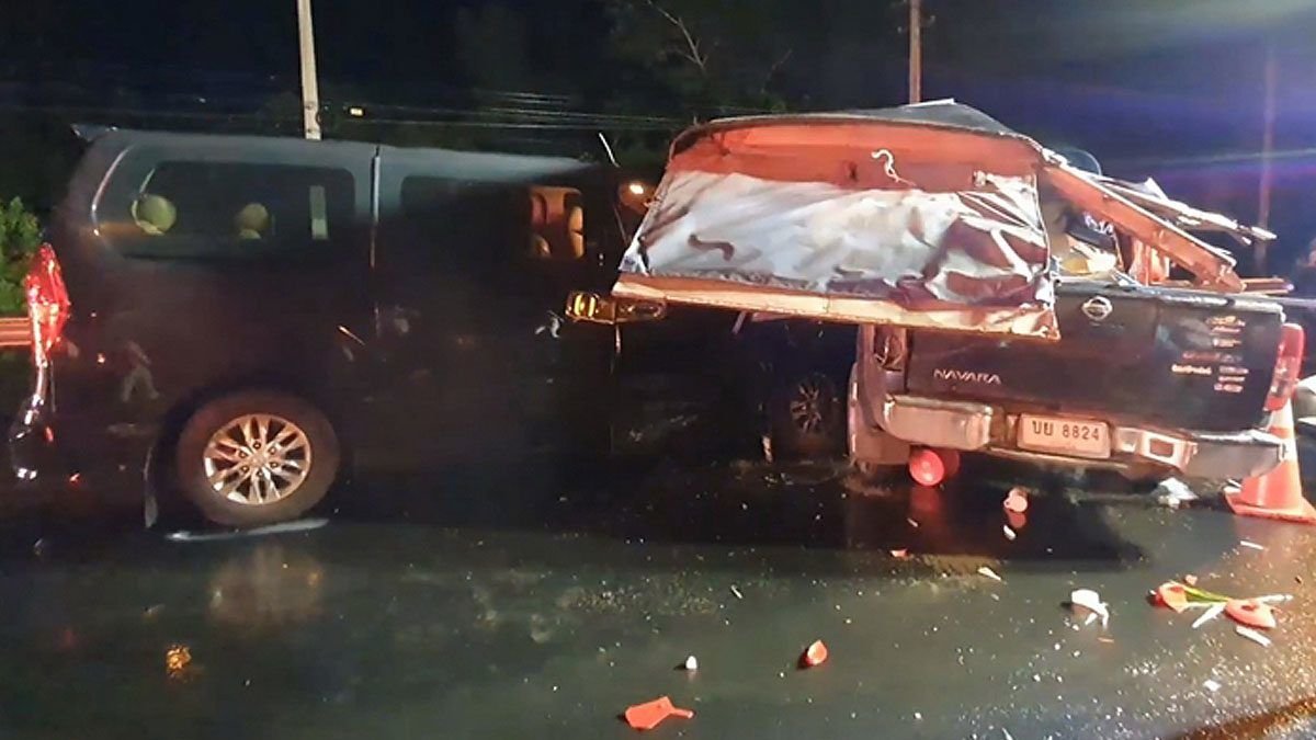 3 died, others hospitalised in Northeast Thailand crash | Thaiger