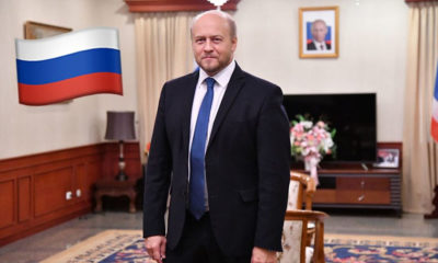 Russian Ambassador offers to share info on Covid-19 vaccine with Thailand | Thaiger
