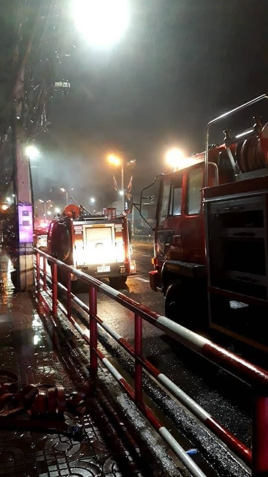 Well-known Chinese restaurant in Chon Buri catches fire | Thaiger