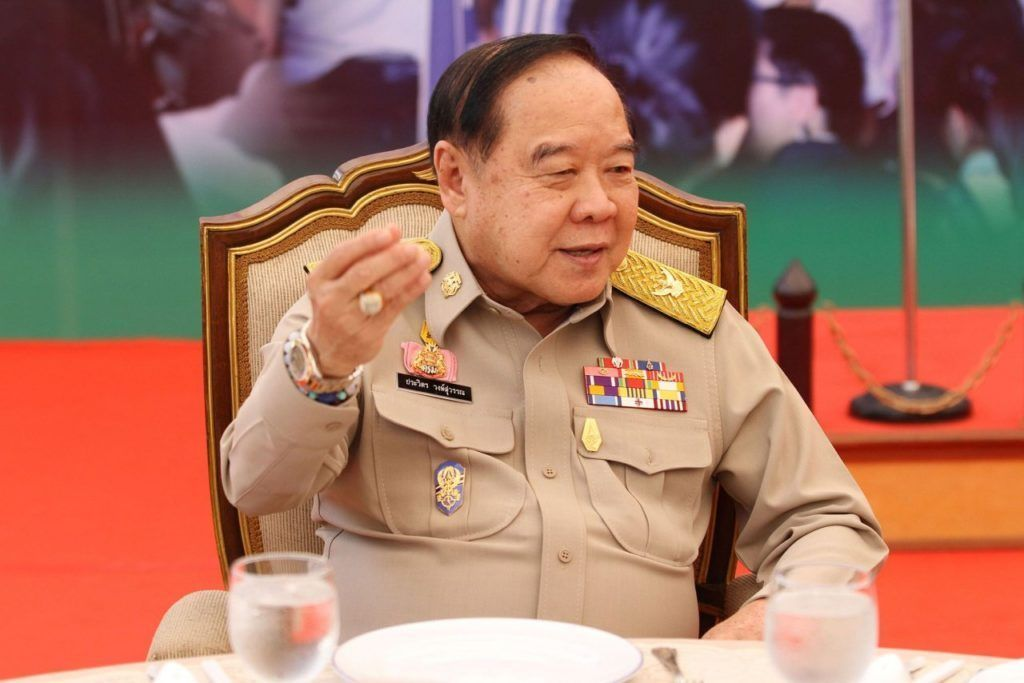 Deputy PM brushes off 'Hunger Games' resistance symbol as scouts' salute | Thaiger