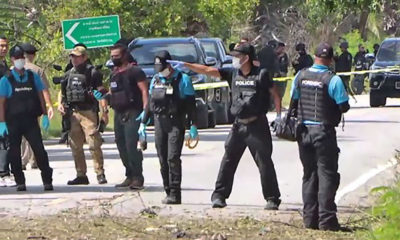 2 bombing suspects dead, 3 soldiers wounded in Pattani shootout | The Thaiger