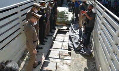 Thai police find 1.6 billion baht worth of drugs hidden in truck | Thaiger