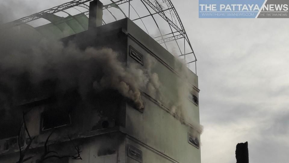 Second fire takes hold at luxury home destroyed in Pattaya blaze   Thaiger