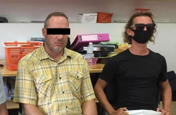 Expats arrested after posing for selfies while handling protected sea creatures | News by Thaiger