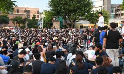 5 protesters to be charged over a rally in front of the Thai Army's headquarters | The Thaiger