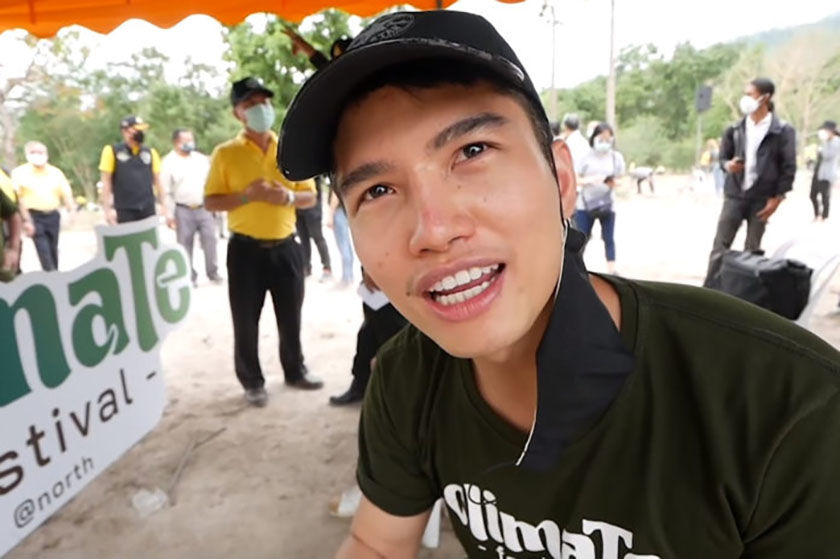 Chiang Mai official accuses YouTuber and 'life coach' of fraudulent fundraising | Thaiger