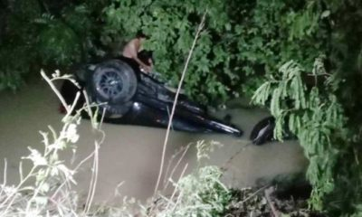 4 people drown after SUV careers into canal in Chon Buri | Thaiger