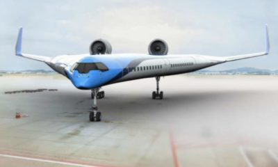 Will the Flying-V be the shape of passenger travel in the future?   The Thaiger