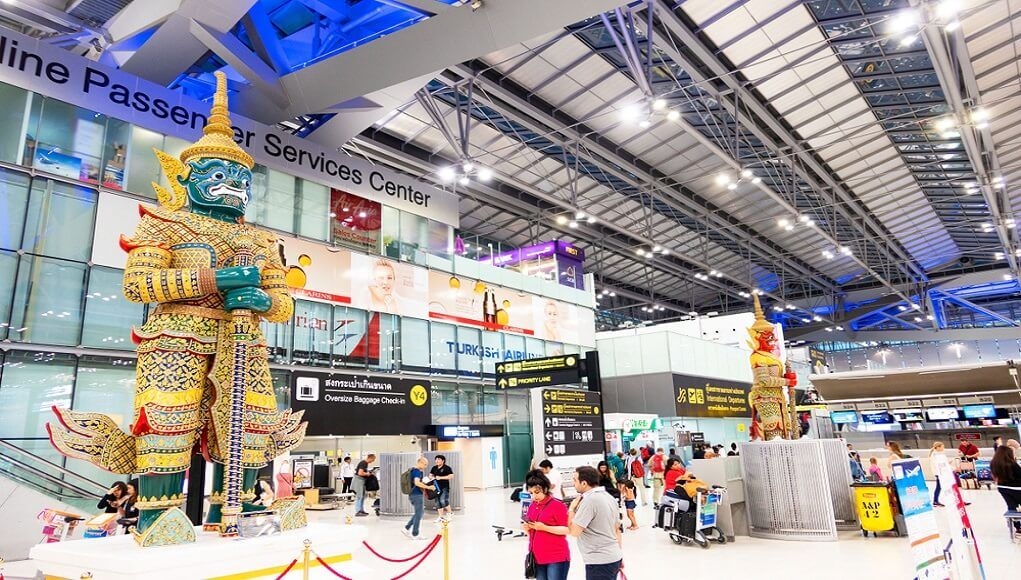 Bangkok airport security staff file lawsuit over pay cuts   Thaiger