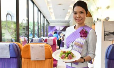 Chicken or the beef? Thai Airways opens up pop-up restaurants serving their airline food. | The Thaiger
