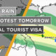 Heavy rain, big protest tomorrow, special tourist visa | Thailand News Today | September 18 | Thaiger