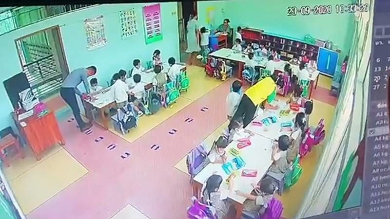 Nonthaburi teacher allegedly beat students, witnesses may face charges -VIDEO | Thaiger