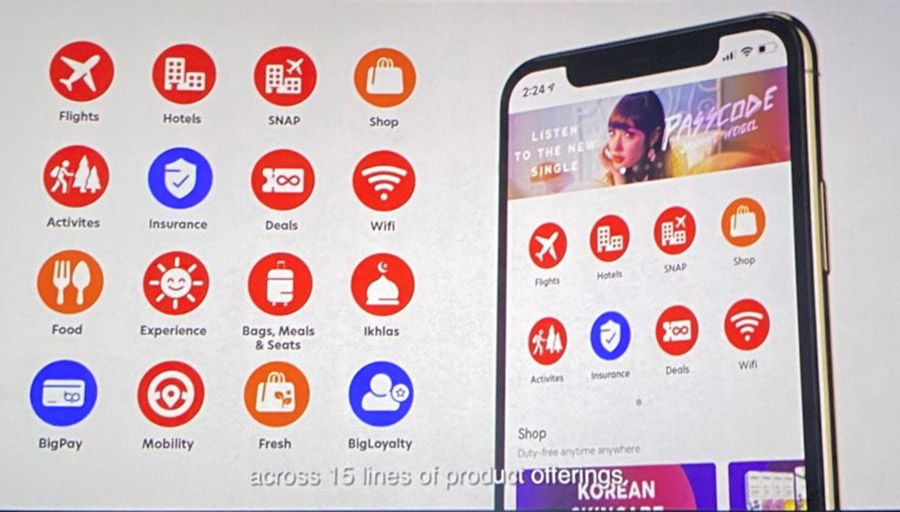 """Air Asia seeks to mitigate economic losses with launch of """"super app""""   Thaiger"""