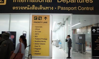 Immigration police arrest 3 at Bangkok airport, 2 Thais allegedly had fake US visas   Thaiger