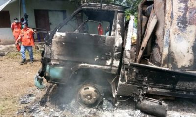 Isaan man's body found in burnt truck, police investigate possible murder | Thaiger