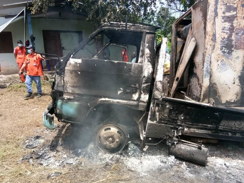 Isaan man's body found in burnt truck, police investigate possible murder   Thaiger