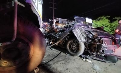 3 local government officials killed in head on collision | Thaiger