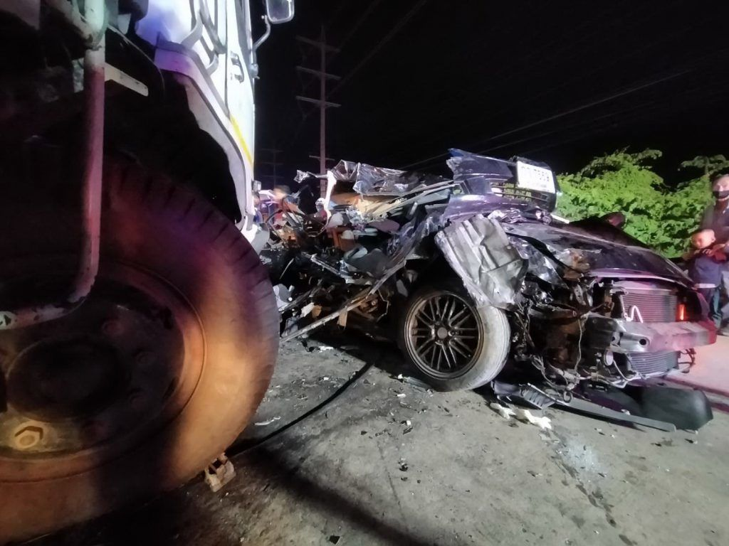 3 local government officials killed in head on collision   Thaiger