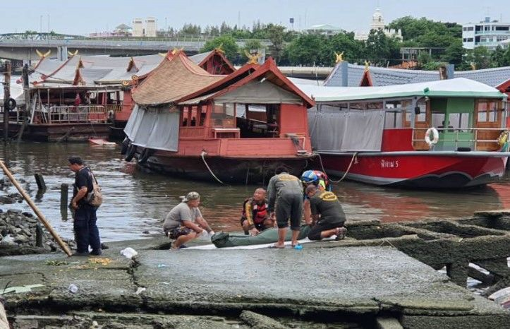 Woman's body found floating down Bangkok river | Thaiger