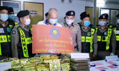Man arrested for allegedly trafficking 112 million baht worth of drugs | The Thaiger
